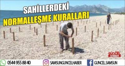 SAHİLLERDEKİ NORMALLEŞME KURALLARI