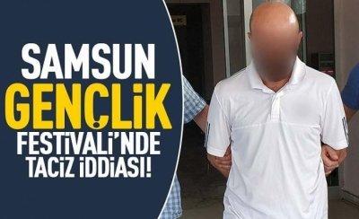 Samsun Gençlik Festivali'nde taciz iddiası
