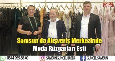 Samsun'da Alışveriş Merkezinde Moda Rüzgarları Esti