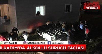 SAMSUN'DA ALKOLLÜ SÜRÜCÜ FACİASI