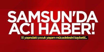 Samsun'da Arda Turan hayatını kaybetti