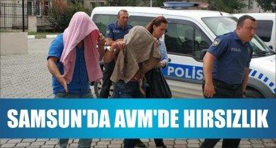 SAMSUN'DA AVM'DE HIRSIZLIK