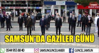 SAMSUN'DA GAZİLER GÜNÜ