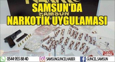 SAMSUN'DA NARKOTİK UYGULAMASI