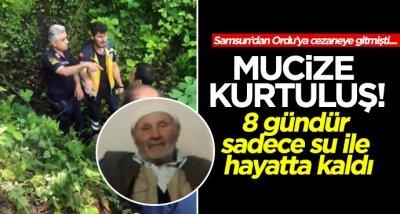 Samsun'da Ordu'ya giden Salim Amca'nın mucize kurtuluşu