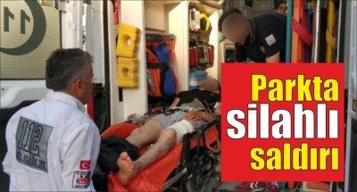 Samsun'da parkta silahlı saldırı