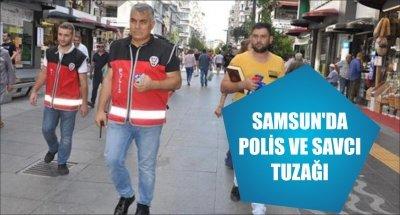 SAMSUN'DA POLİS VE SAVCI TUZAĞI