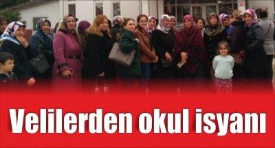 Samsun'da velilerden okul isyanı