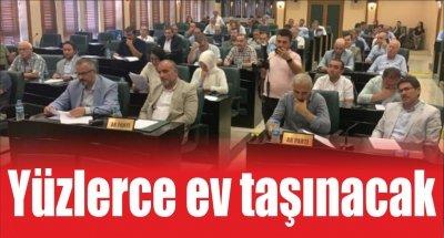 Samsun'da yüzlerce ev taşınacak