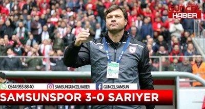 SAMSUNSPOR 3-0 SARIYER