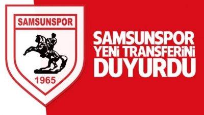 Samsunspor'dan bir transfer daha