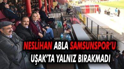 Samsunspor'un Neslihan Ablası