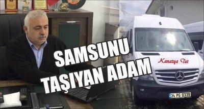 SAMSUNU TAŞIYAN ADAM