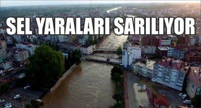 SEL YARALARI SARILIYOR
