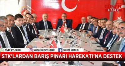 STK'LARDAN BARIŞ PINARI HAREKATI'NA DESTEK