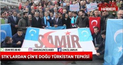 STK'LARDAN ÇİN'E DOĞU TÜRKİSTAN TEPKİSİ