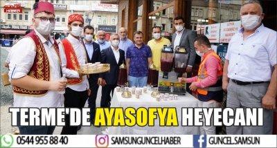 TERME'DE AYASOFYA HEYECANI