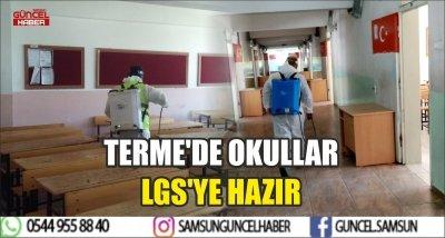 TERME'DE OKULLAR LGS'YE HAZIR