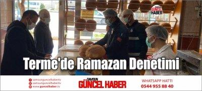 Terme'de Ramazan Denetimi
