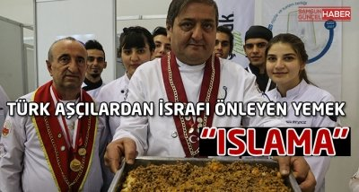 Türk aşçılardan ekmek israfını önleyecek yemek: