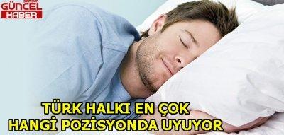 Türkler en çok yan yatarak uyuyor
