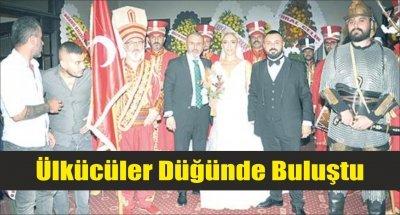 Ülkücüler Düğünde Buluştu