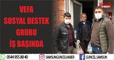 VEFA SOSYAL DESTEK GRUBU İŞ BAŞINDA