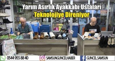 Yarım Asırlık Ayakkabı Ustaları Teknolojiye Direniyor