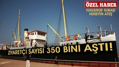 ZİYARETÇİ SAYISI 350 BİNİ AŞTI