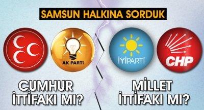 Vatandaşa sorduk;AKP-MHP ittifakı mı yoksa CHP-İYİ parti ittifakı mı? İşte aldığımız yanıtlar.